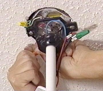 install ceiling fan wiring