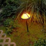 outdoor garden path lighting