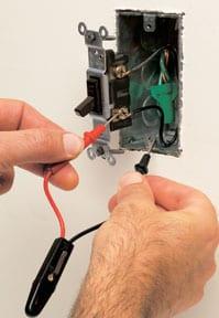 repair ceiling fan circuit tester