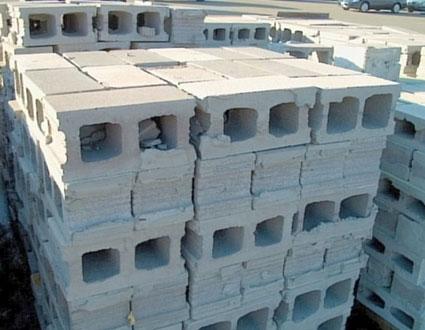 concrete masonry unit blocks