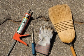 tools for asphalt driveway repair