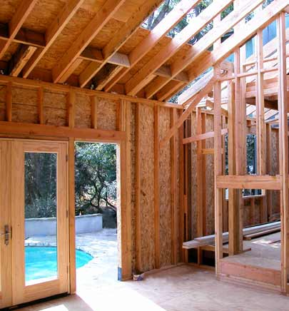 Framing for DIY home improvement project