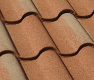 Metal tile roof offers Old World charm. It's lightweight and low maintenance. Photo: Decra