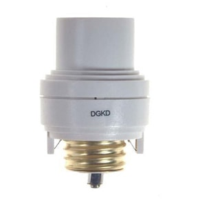 Screw-in lamp-base dimmer is touch controlled. Photo: Westek