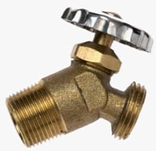 Water Heater Drain Valve   Photo: B&K