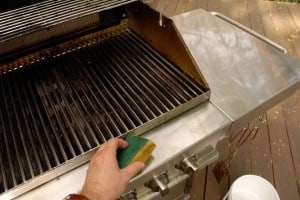 how to clean a barbecue