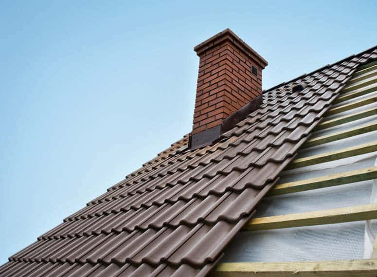 Metal shingles may be long panels that are applied from the bottom up.