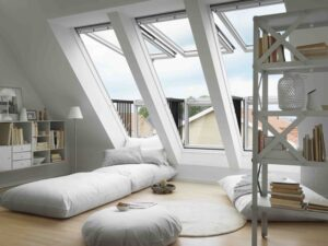 velux fold out cabrrio roof window skylight