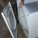 opening a dryer front