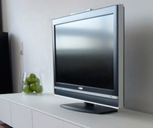HDTV monitor screen