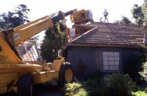 Some materials, such as concrete tile, require special roof structure and heavy-duty equipment for loading.