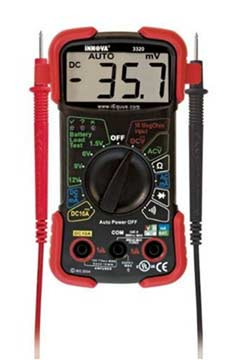 repair humidifier multimeter