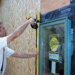 installing clad window