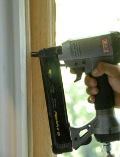 how to install interior trim