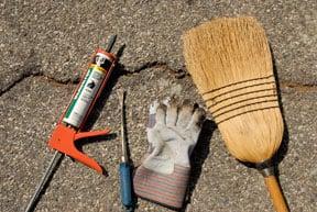 asphalt driveway repair tools