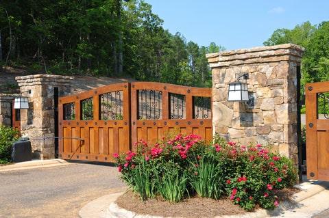 custom automatic driveway gates