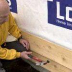 installing lap siding board