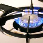 gas burner flame problem