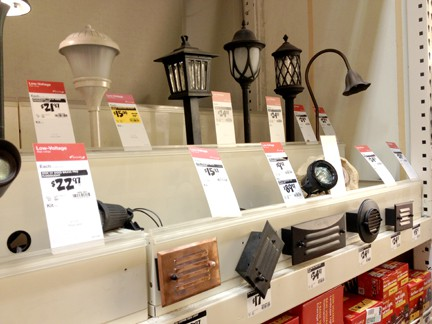 Outdoor lighting is sold in many forms and configurations.