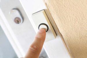 push button for a doorbell