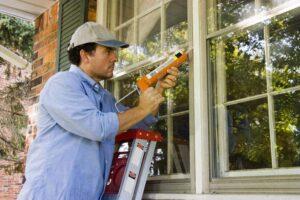 caulking windows energy efficiency