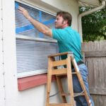 hurricane protection by taping windows