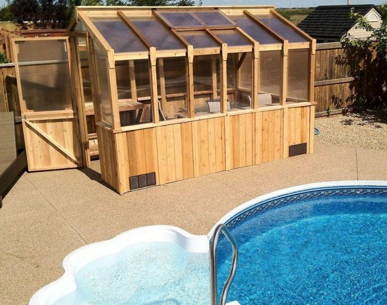 cedar greenhouse kit